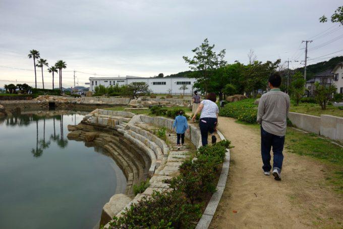 玉野市にある親水公園