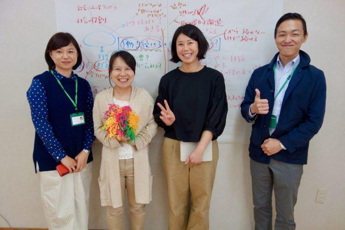 講師とスタッフの記念撮影
