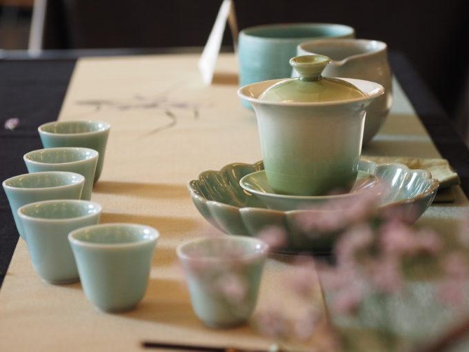 美しい茶器