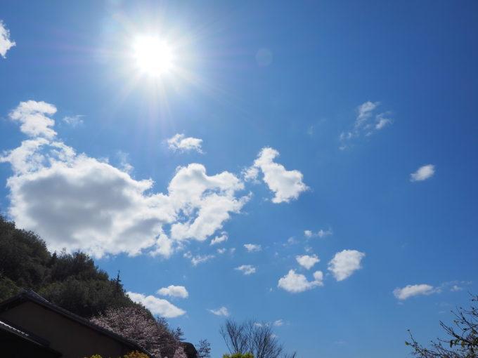 青空が広がる春